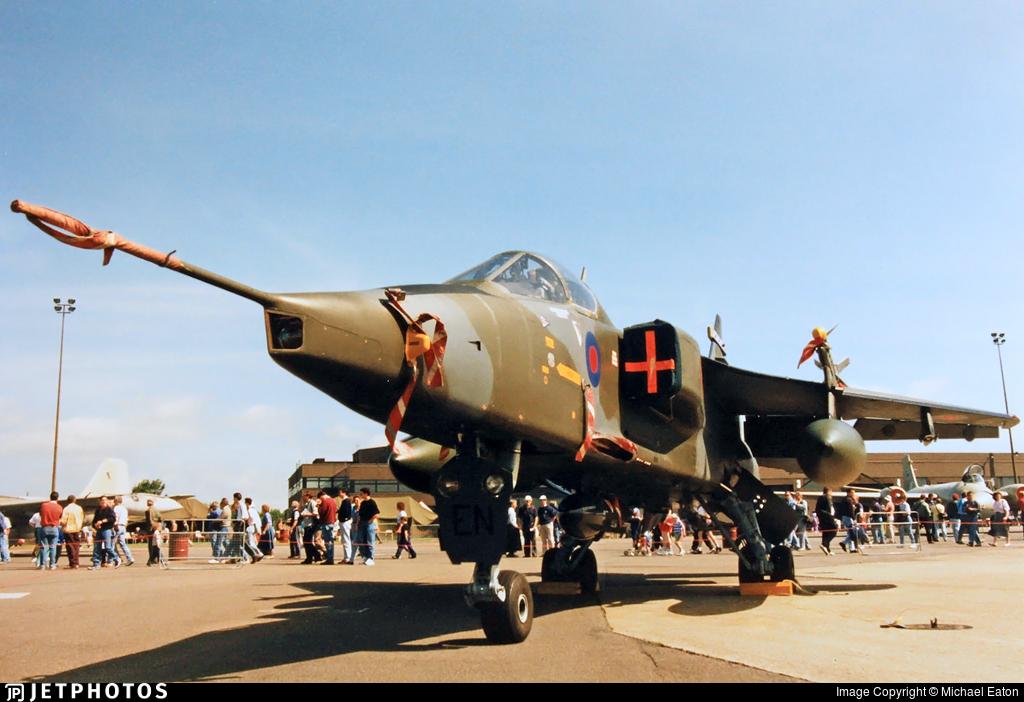 XZ109 | Sepecat Jaguar GR 1A | United Kingdom - Royal Air