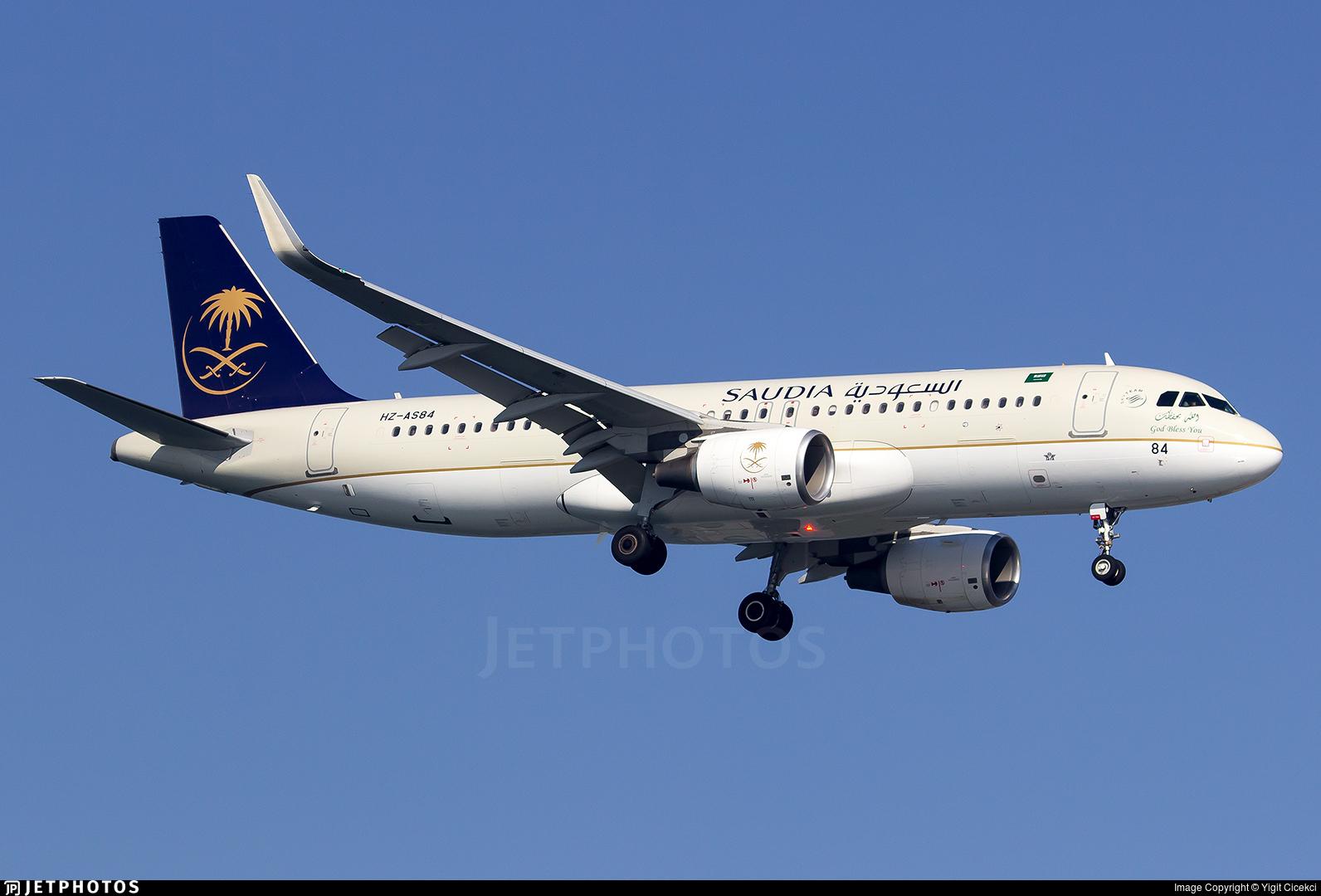 HZ-AS84 - Airbus A320-214 - Saudi Arabian Airlines
