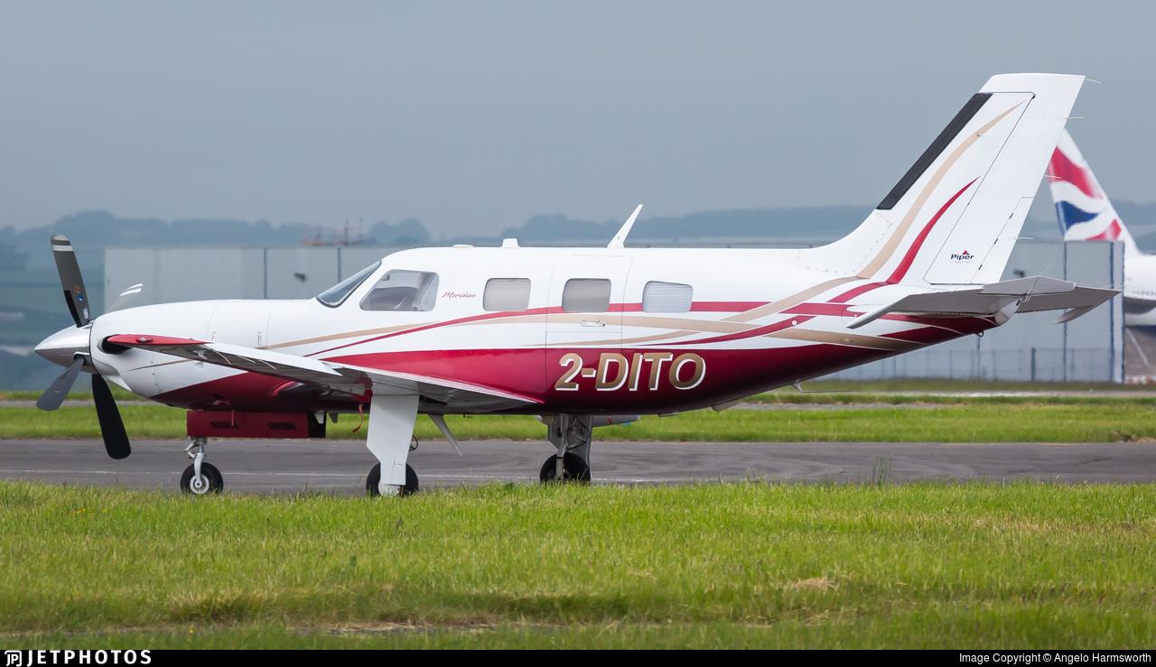 2-DITO - Piper PA-46-500TP Malibu Meridian - Private