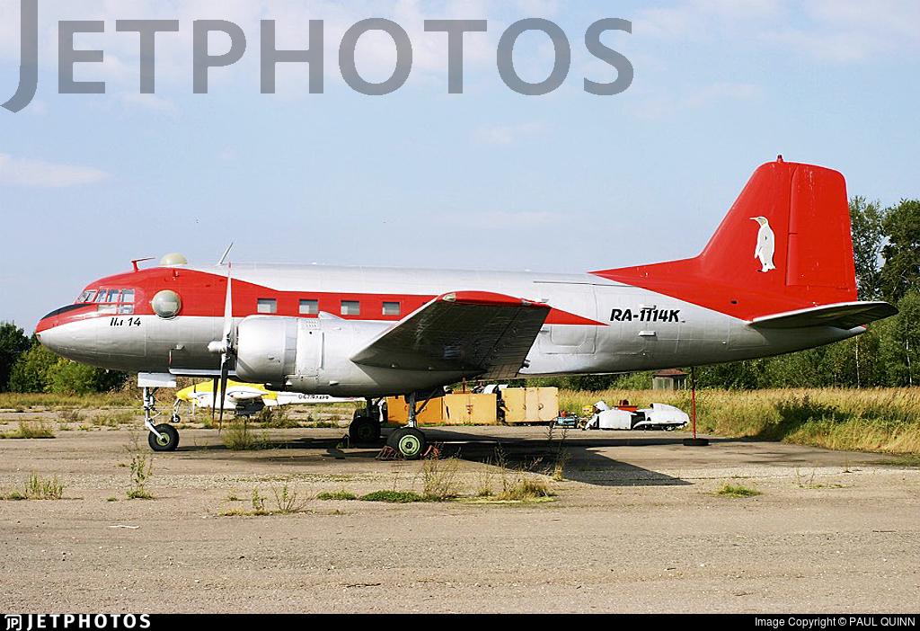 RA-1114K - Ilyushin IL-14 - Private