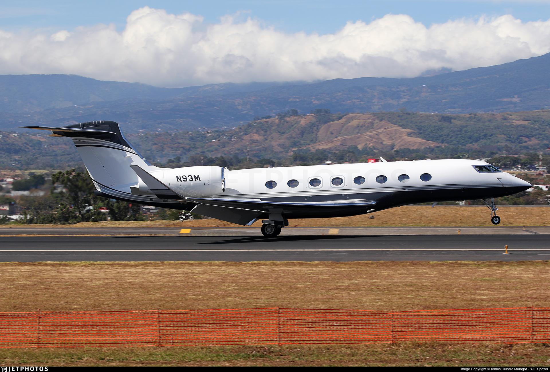 N93M - Gulfstream G650ER - Private