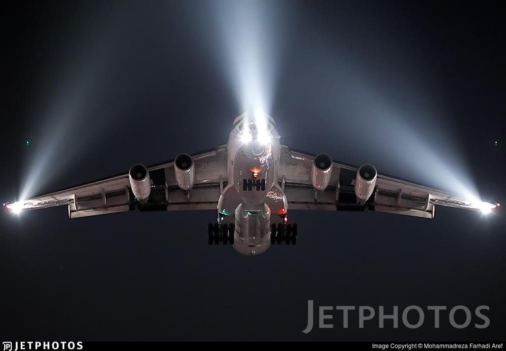 EP-PUS - Ilyushin IL-76TD - Pouya Air