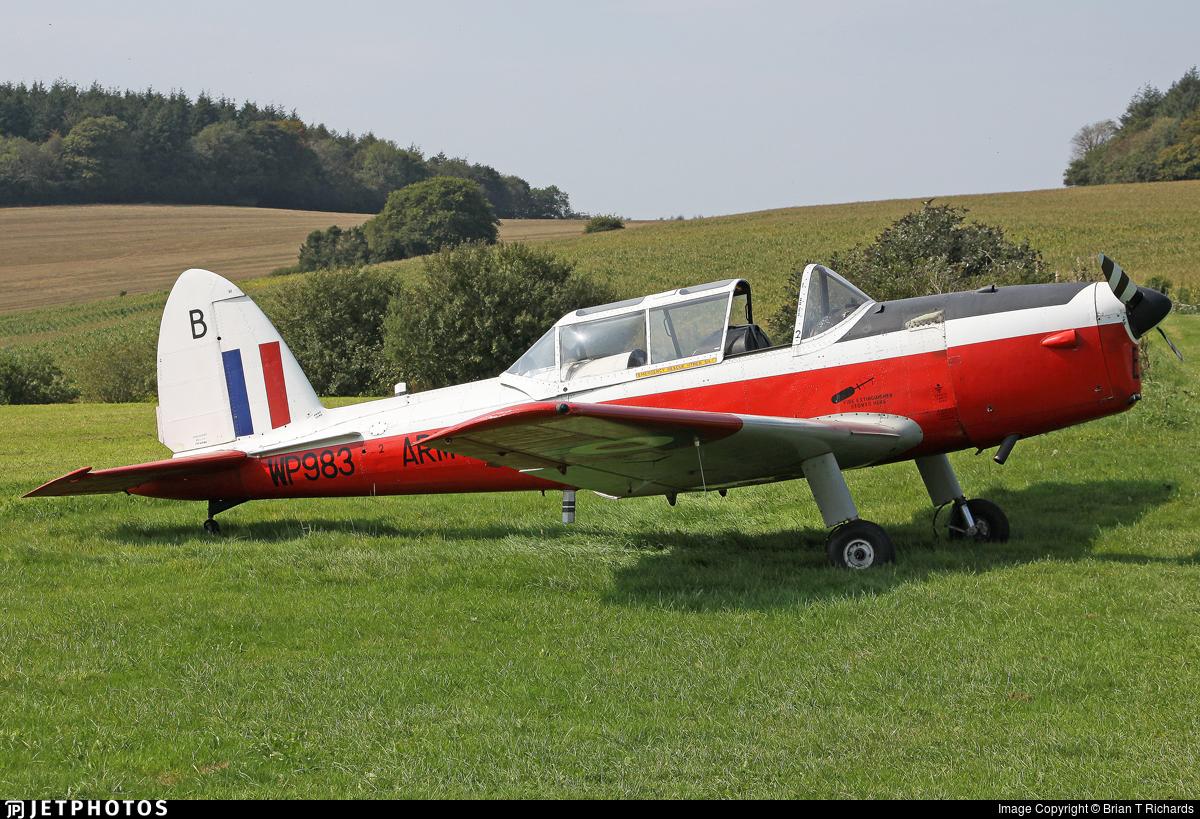 G-BXNN - De Havilland Canada DHC-1 Chipmunk 22 - Private