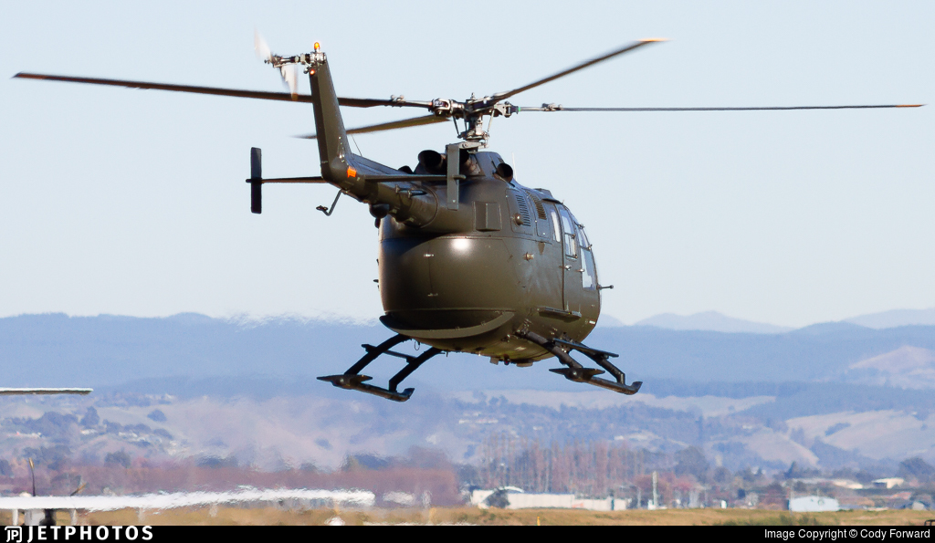 ZK-IAA - MBB Bo105DBS-4 - Private