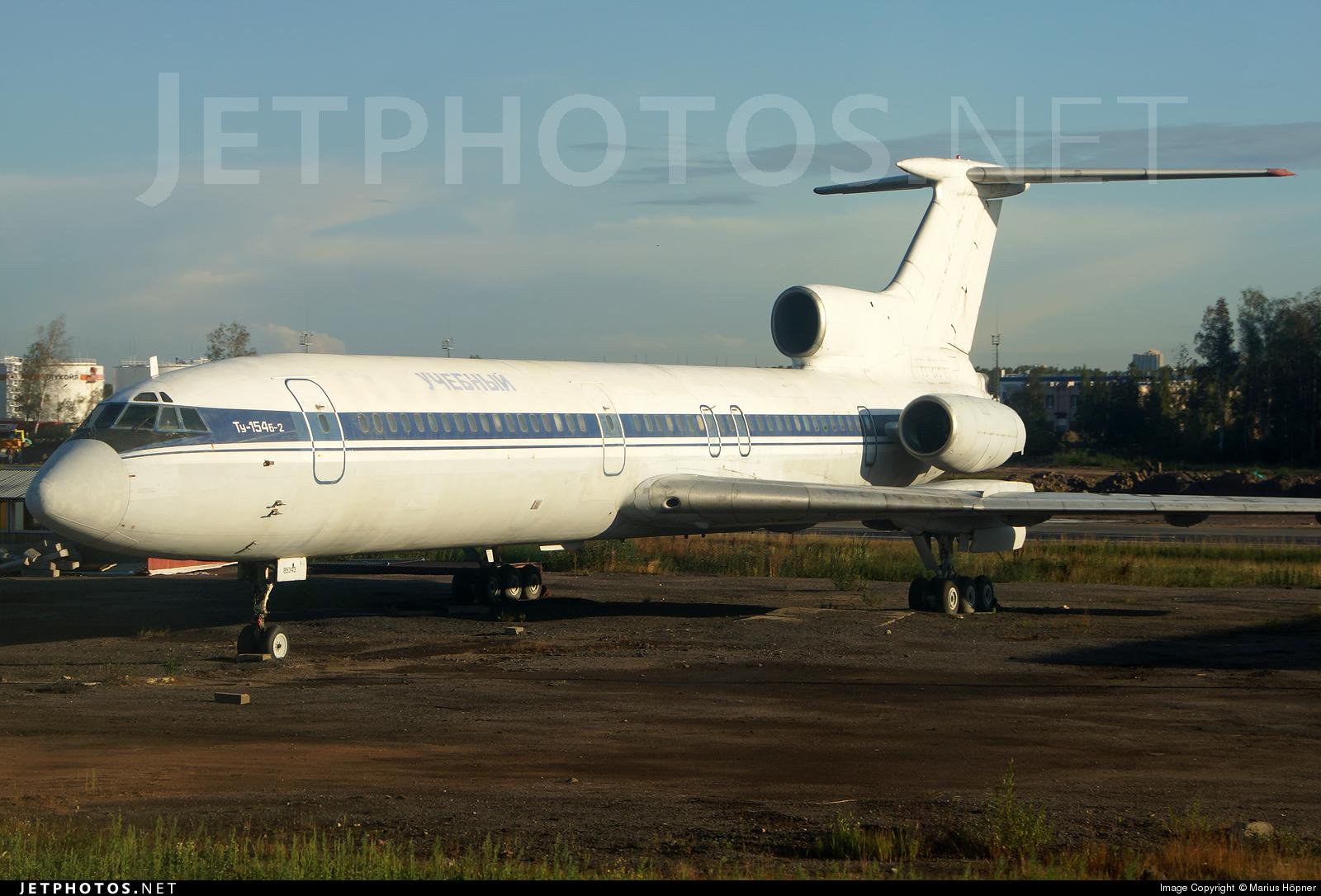 RA-85343 - Tupolev Tu-154B-2 - Pulkovo Aviation Enterprise