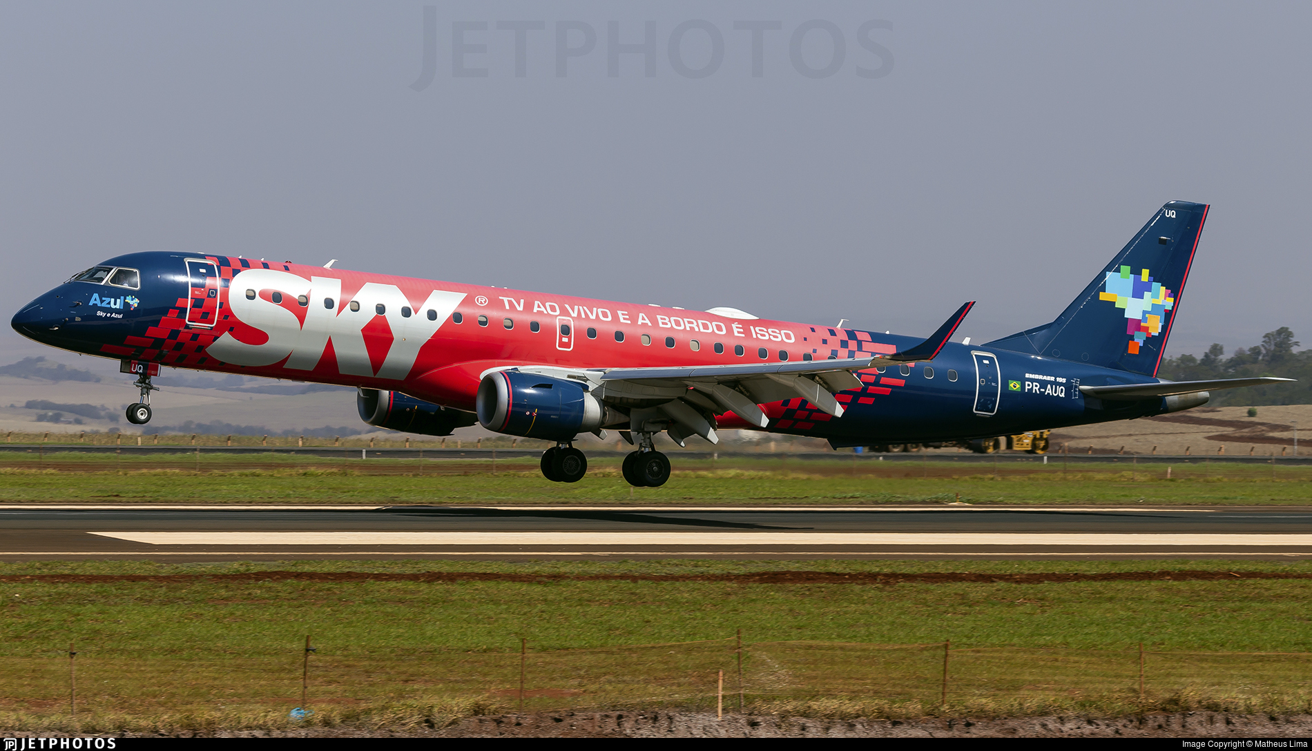 PR-AUQ - Embraer 190-200IGW - Azul Linhas Aéreas Brasileiras