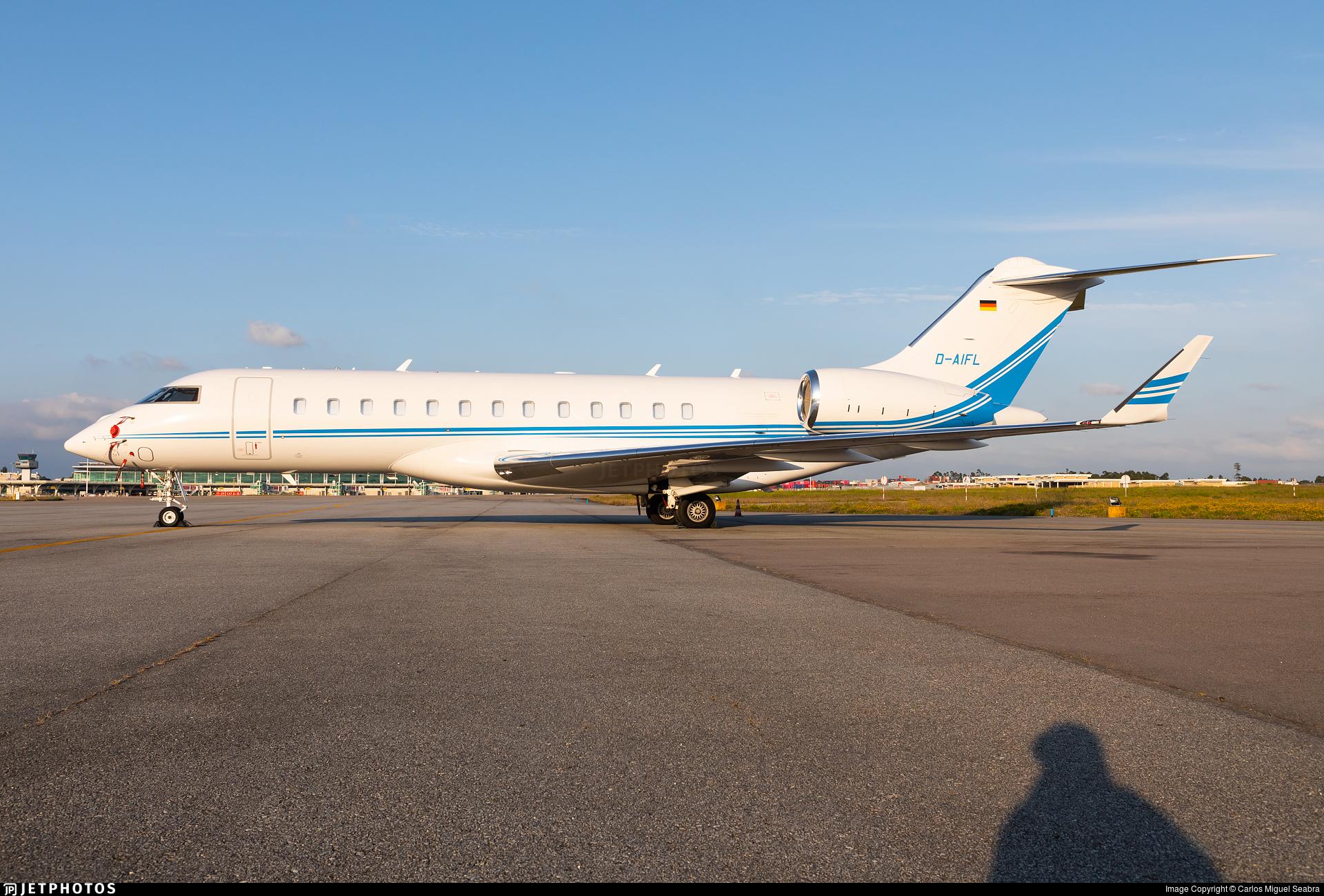 D-AIFL - Bombardier BD-700-1A10 Global 6000 - ACM Air Charter