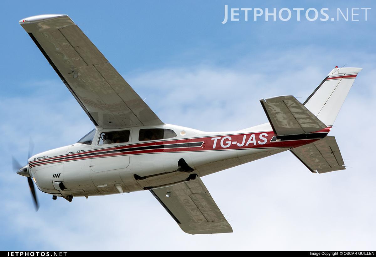 TG-JAS - Cessna T210R Turbo Centurion II - Private
