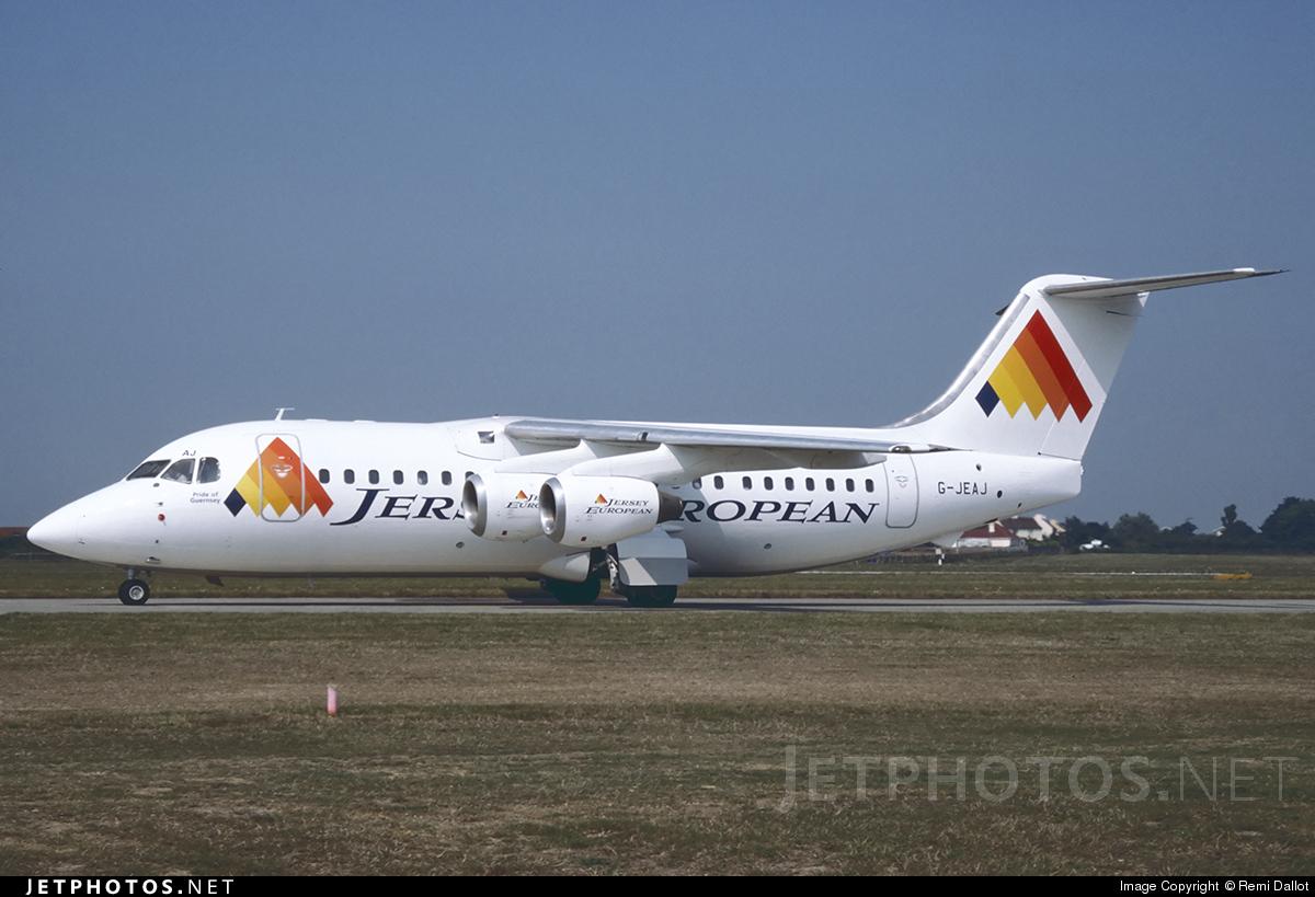 G-JEAJ - British Aerospace BAe 146-200 - Jersey European Airways