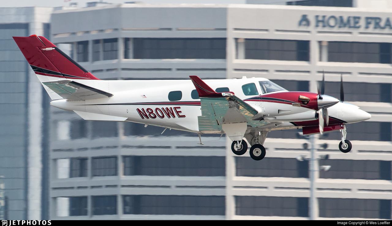 N80WE - Beechcraft B60 Duke - Private
