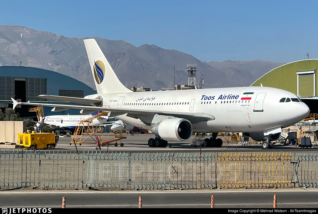 EP-TOA - Airbus A310-324 - Toos Airline