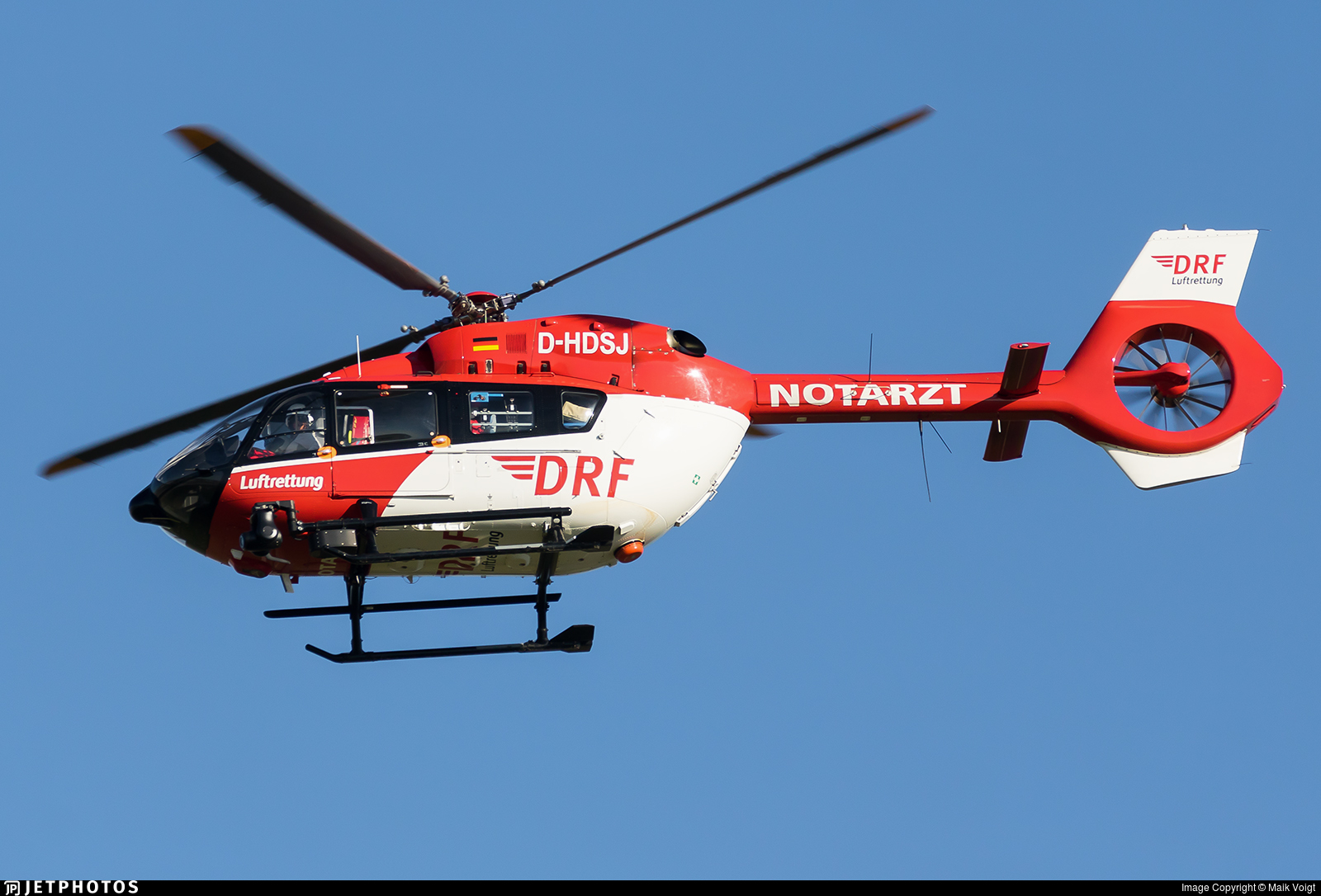 D-HDSJ - Airbus Helicopters H145 - DRF Luftrettung