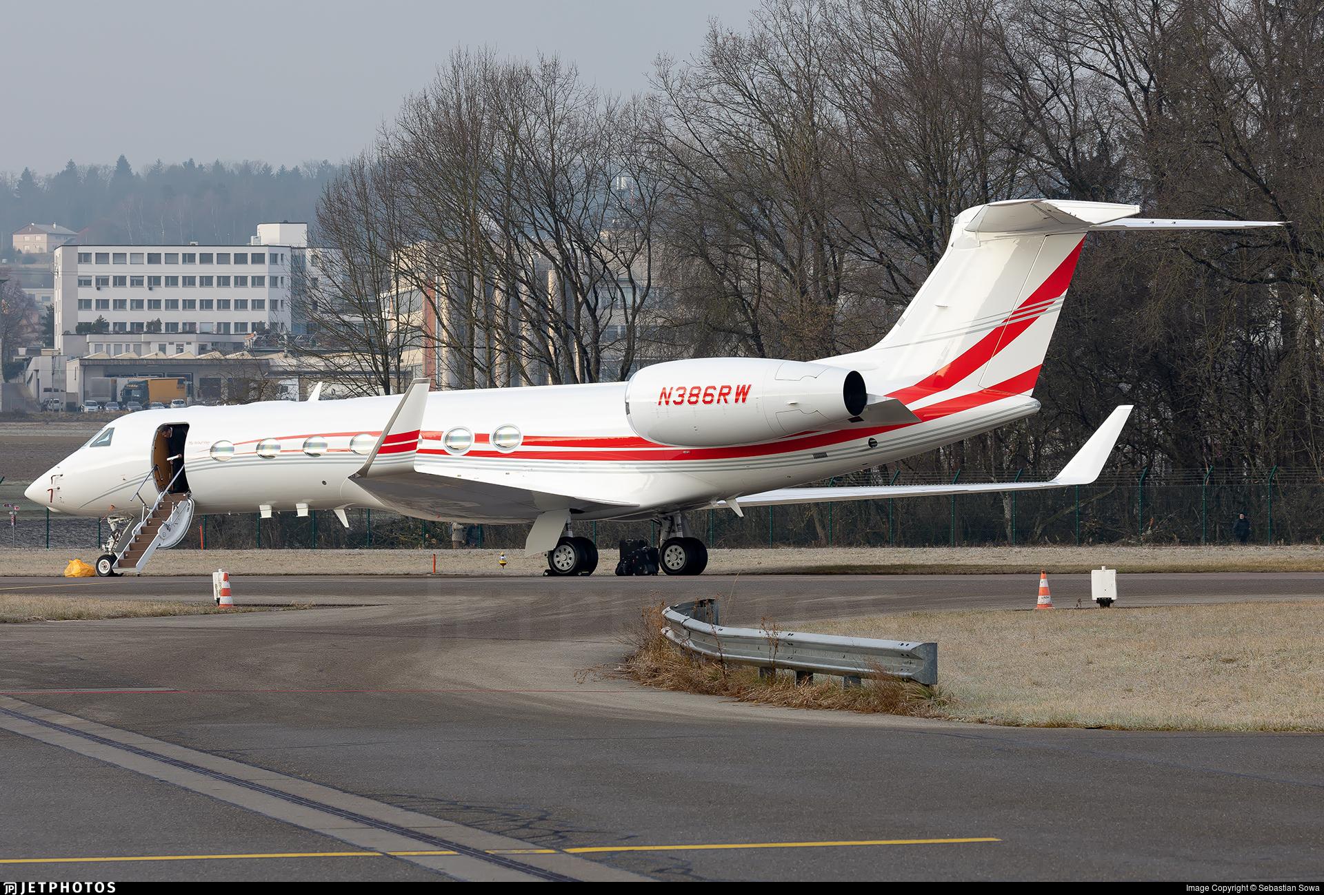 N386RW - Gulfstream G550 - Private