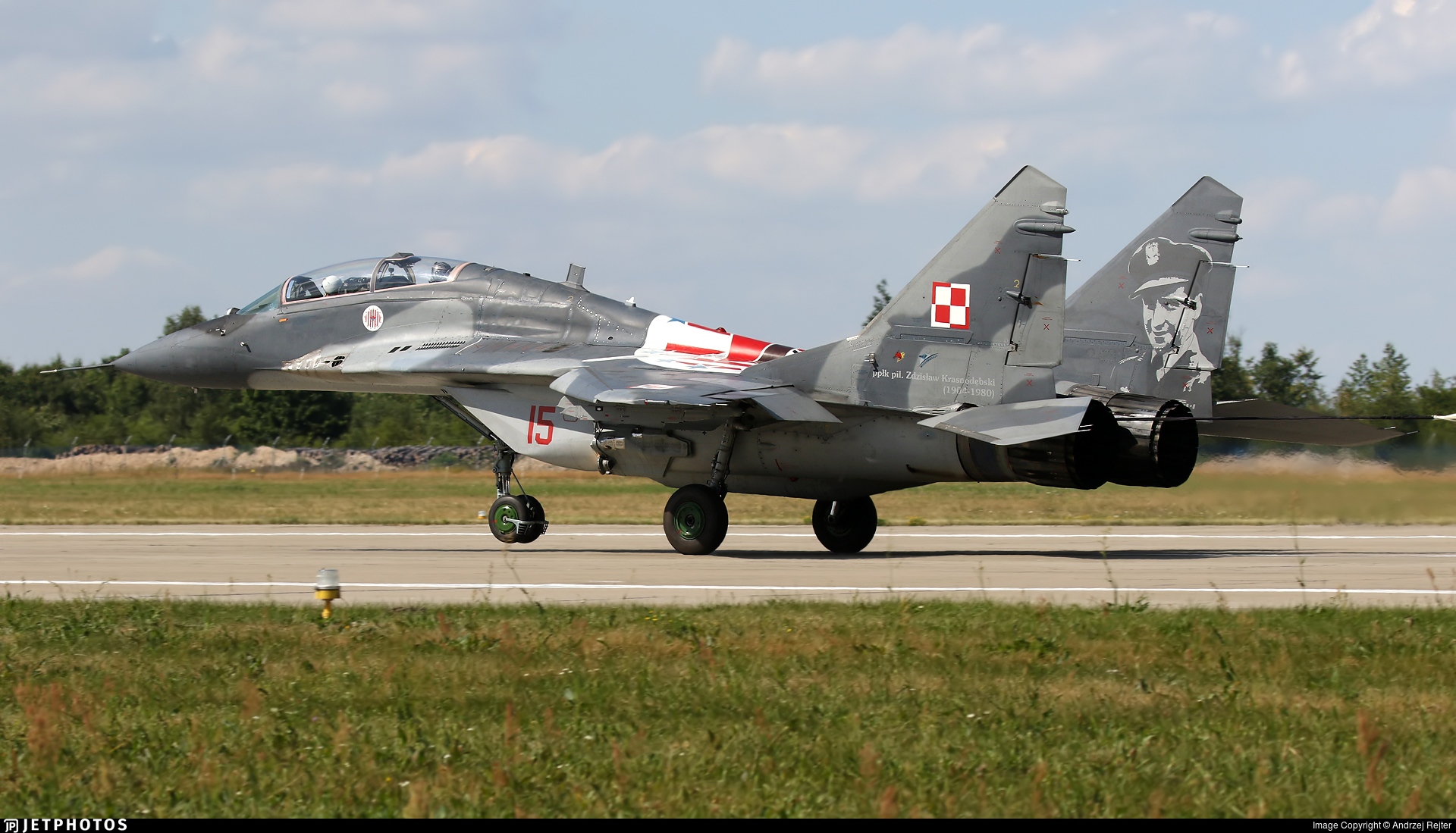 15 - Mikoyan-Gurevich MiG-29UB Fulcrum B - Poland - Air Force
