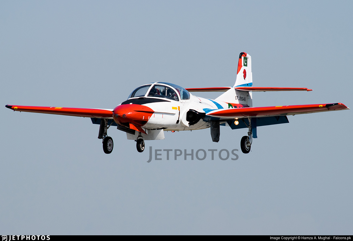 67-22546 - Cessna T-37C Tweety Bird - Pakistan - Air Force