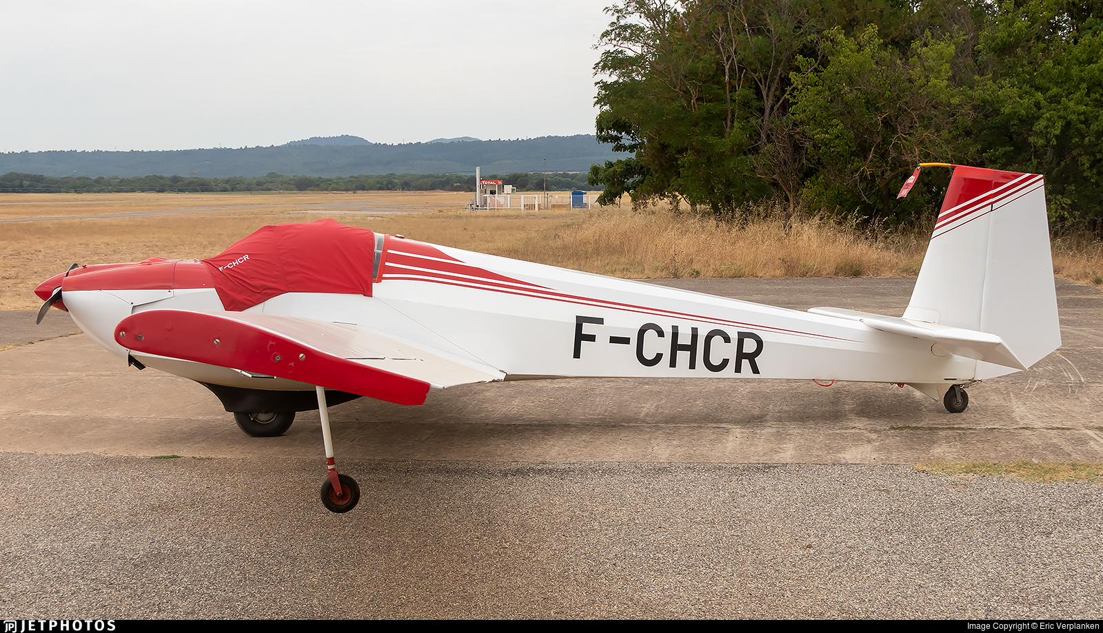 F-CHCR - Scheibe SF.25D Falke - Private