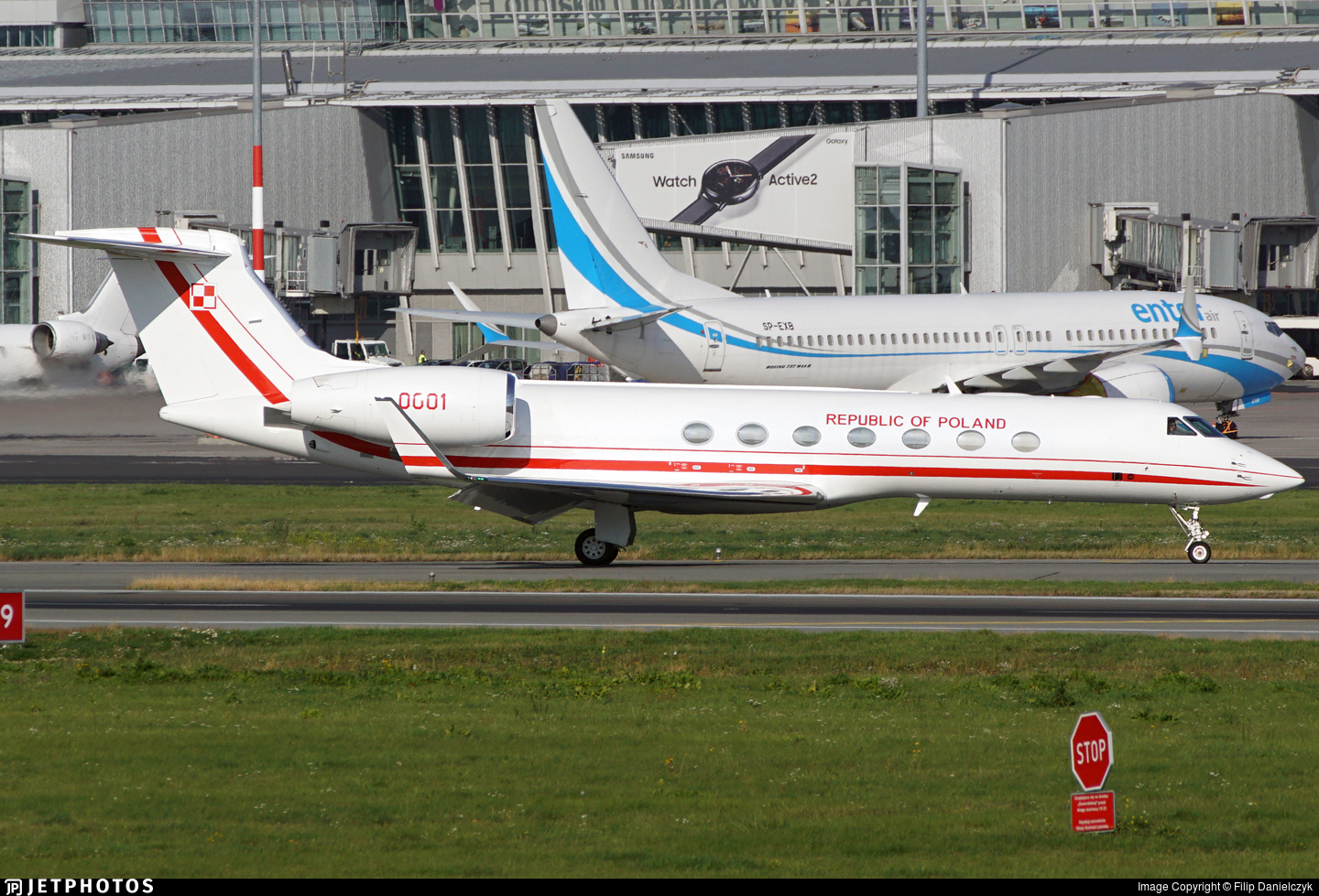 0001 - Gulfstream G550 - Poland - Air Force