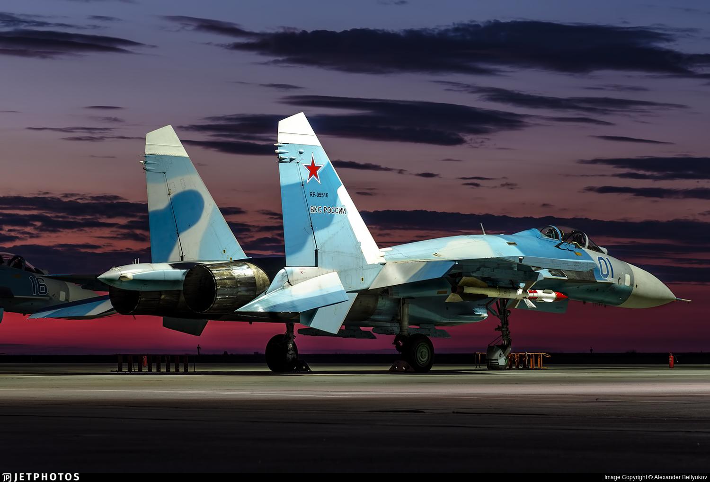 RF-95516 - Sukhoi Su-27 Flanker - Russia - Air Force