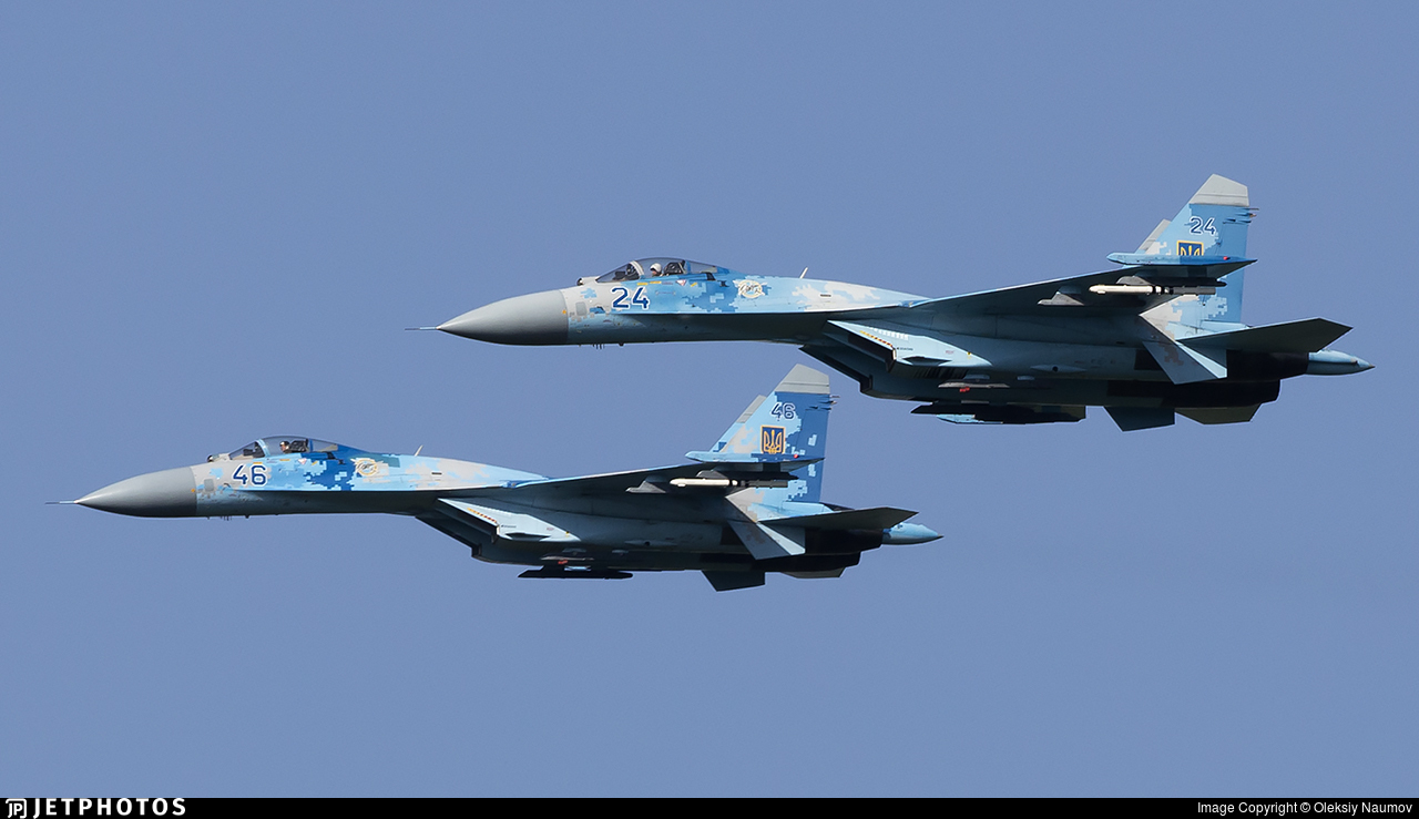 24 - Sukhoi Su-27S Flanker - Ukraine - Air Force