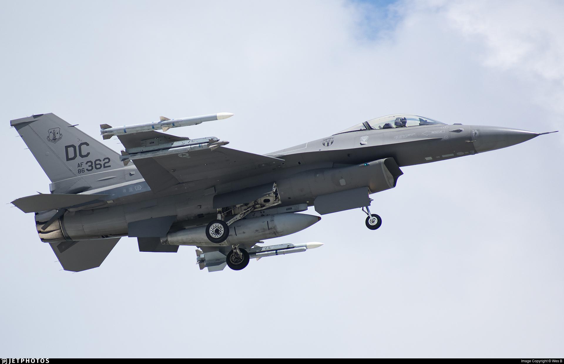 86-0362 - Lockheed Martin F-16C Fighting Falcon - United States - US Air Force (USAF)