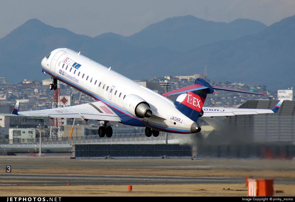 JA06RJ - Bombardier CRJ-702 - Ibex Airlines
