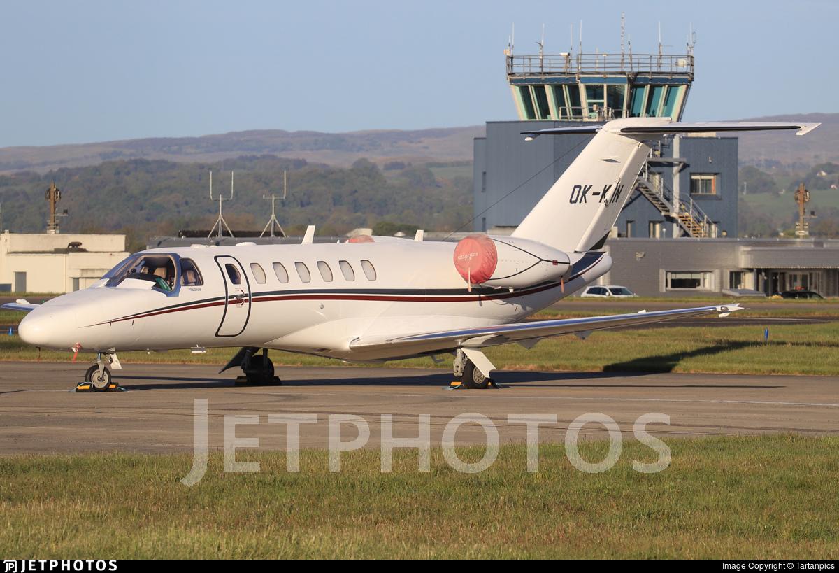OK-KIN - Cessna 525B CitationJet 3 - Private