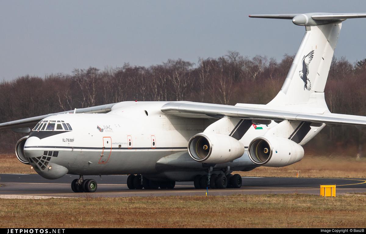 361 - Ilyushin IL-76MF - Jordan - Air Force