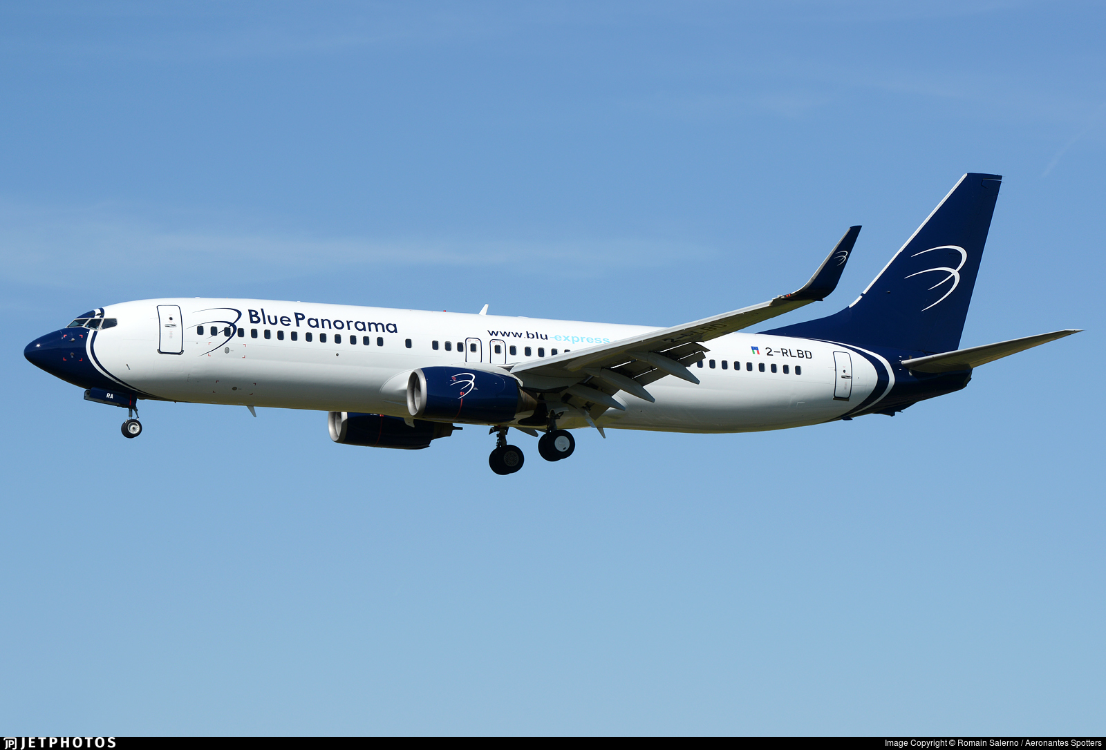 2-RLBD - Boeing 737-85F - Blue Panorama Airlines