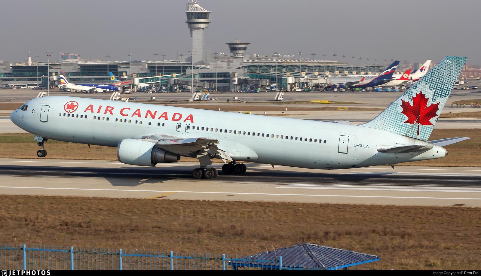 C-GHLA - Boeing 767-35H(ER) - Air Canada