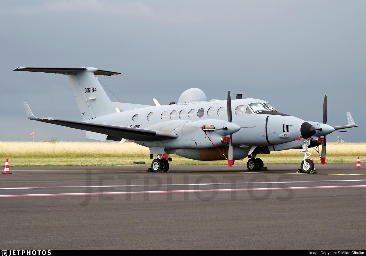 11-00284 - Beechcraft MC-12S Huron - United States - US Army