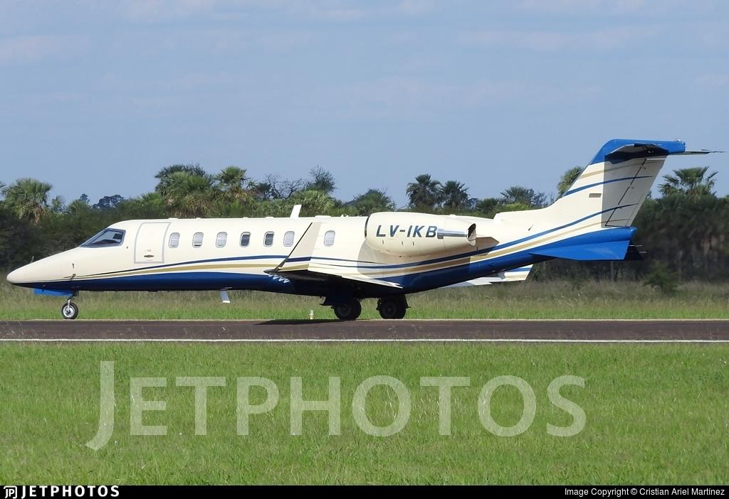 LV-IKB - Bombardier Learjet 45 - AeroRutas
