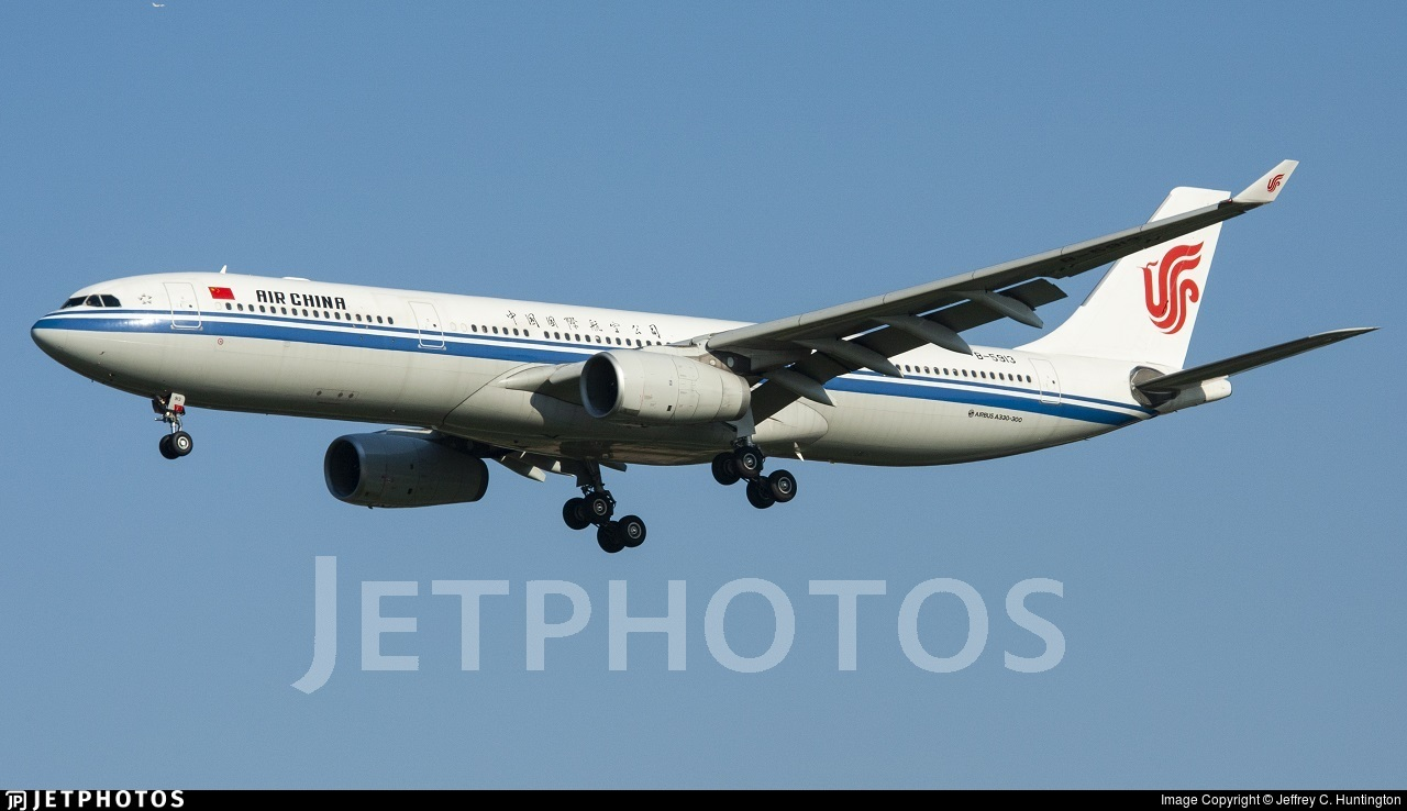 B-5913 - Airbus A330-343 - Air China