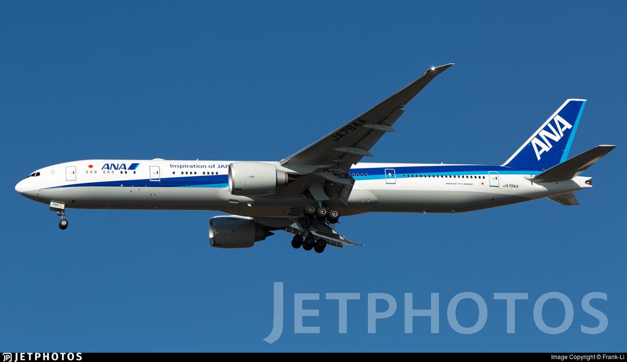 JA794A - Boeing 777-300ER - All Nippon Airways (ANA)