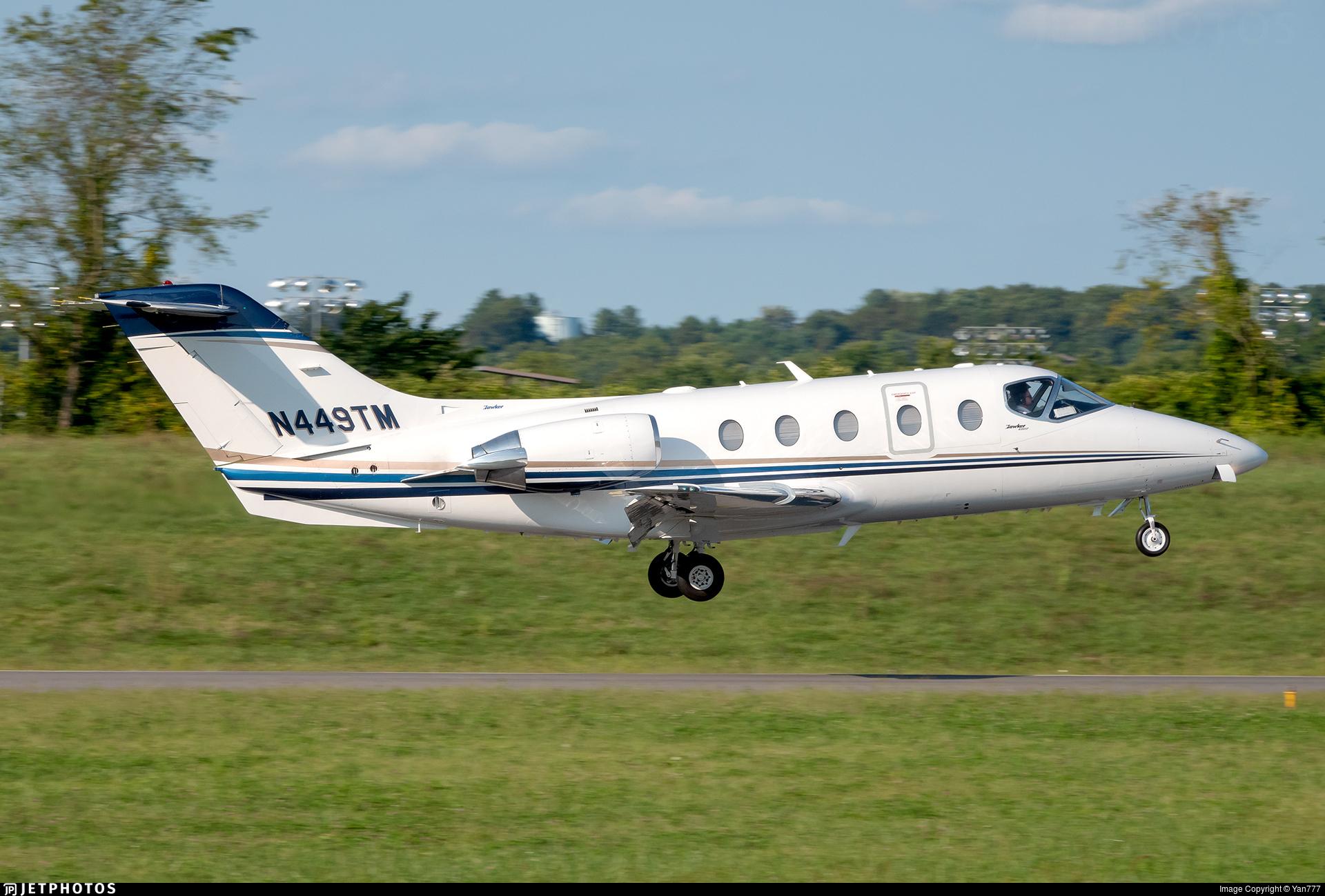 N449TM - Hawker Beechcraft 400A - Private