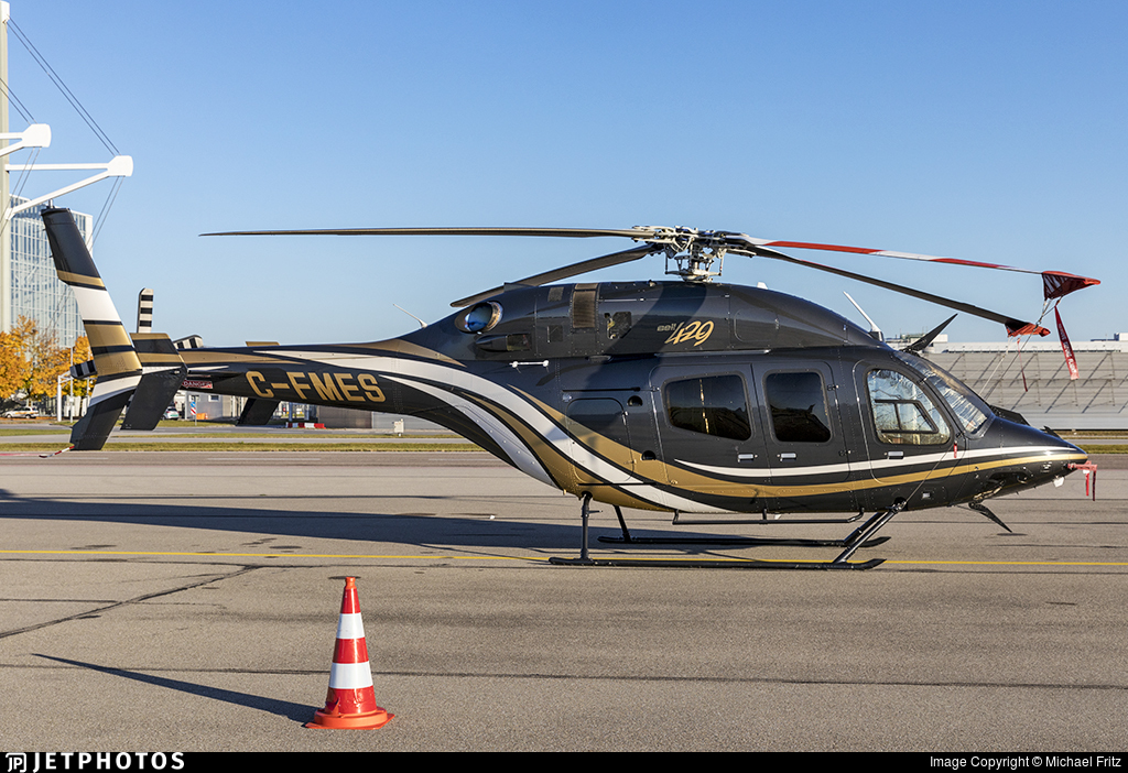 C-FMES - Bell 429 Global Ranger - National Helicopters