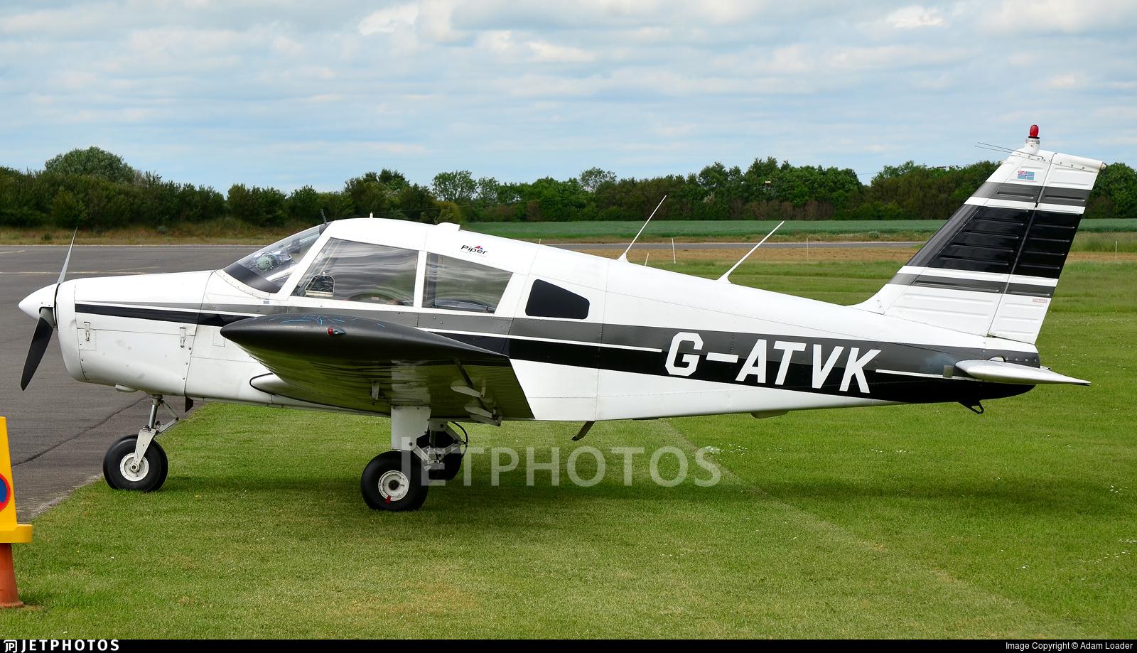 G-ATVK - Piper PA-28-140 Cherokee - Private