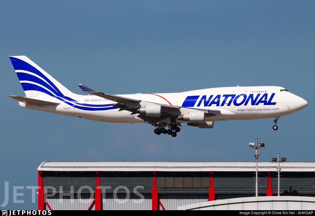 N702CA - Boeing 747-412(BCF) - National Airlines