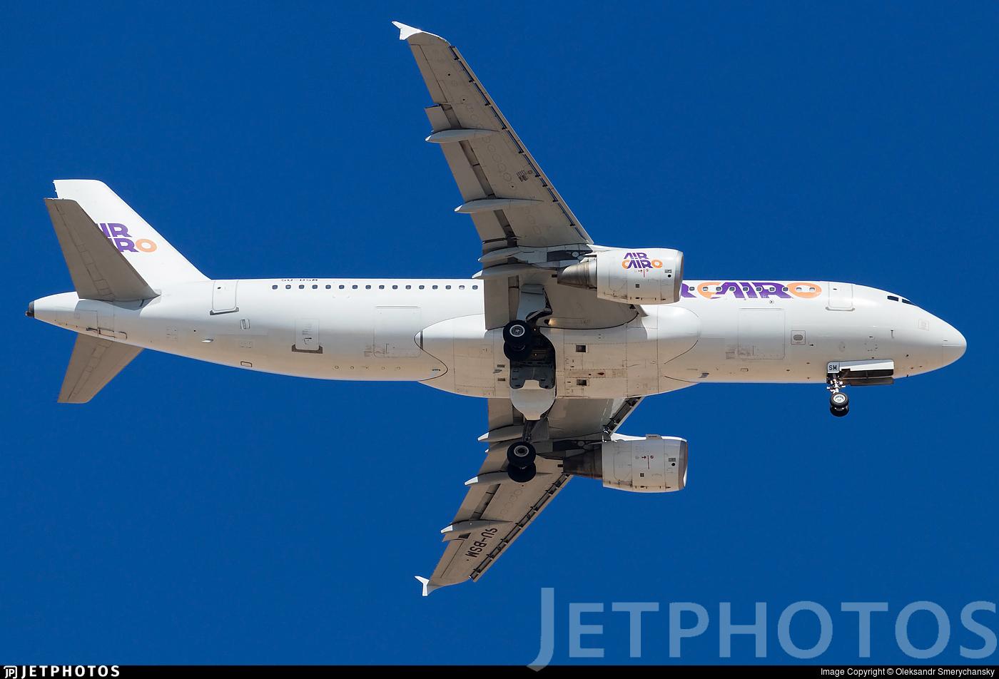 SU-BSM - Airbus A320-214 - Air Cairo