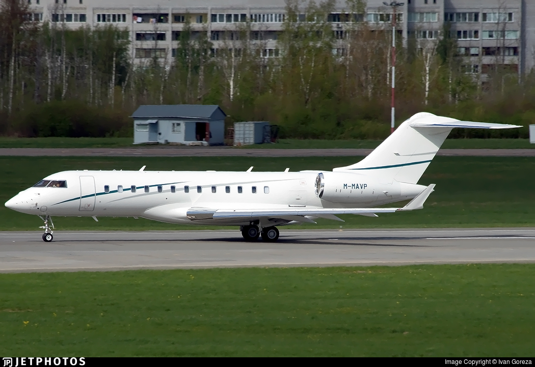 M-MAVP - Bombardier BD-700-1A10 Global 6000 - Private