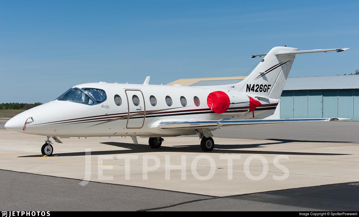 N426GF - Hawker Beechcraft 400A - Private