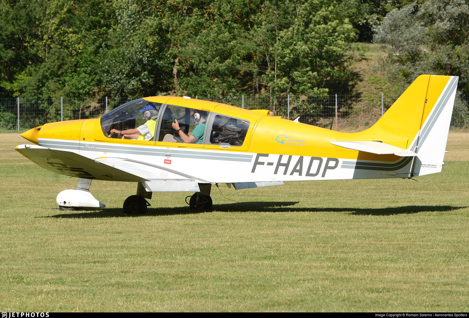 F-HADP - Robin DR400/180 Régent - Private