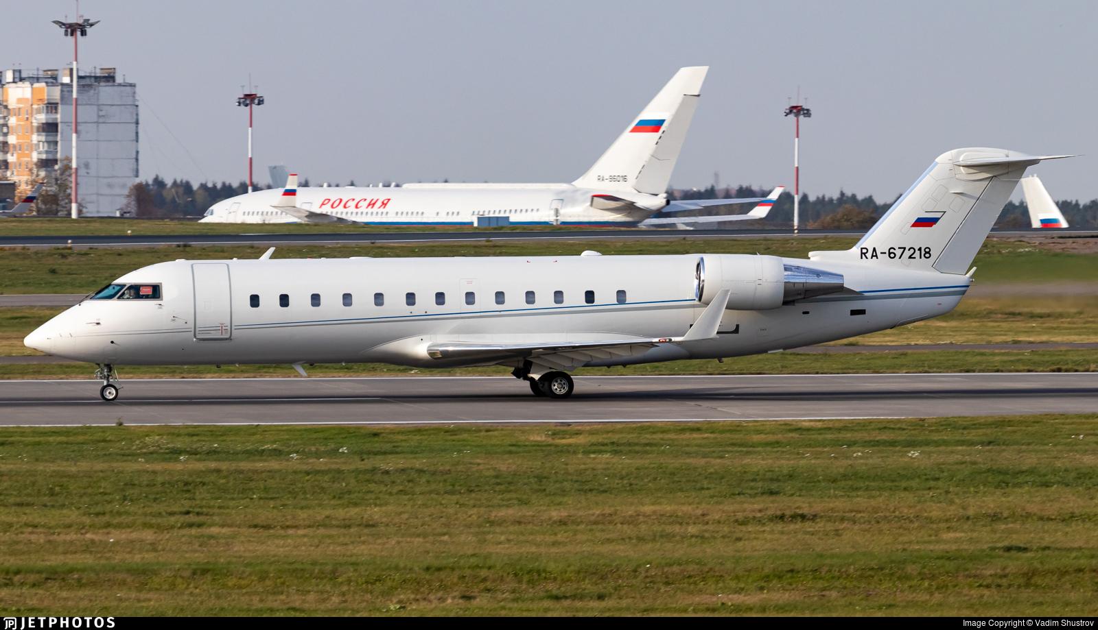 RA-67218 - Bombardier CL-600-2B19 Challenger 850 - Kolavia