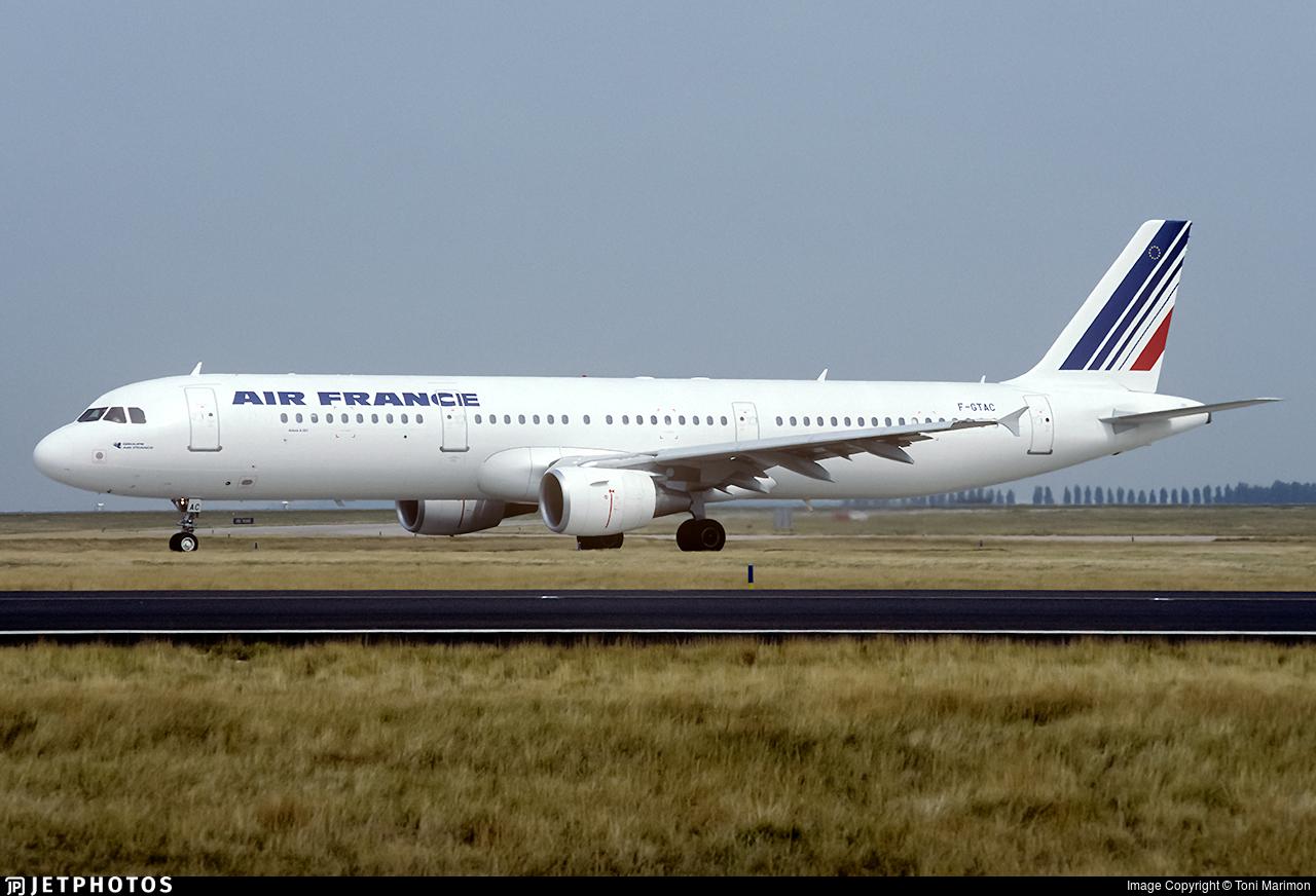 F-GTAC - Airbus A321-211 - Air France