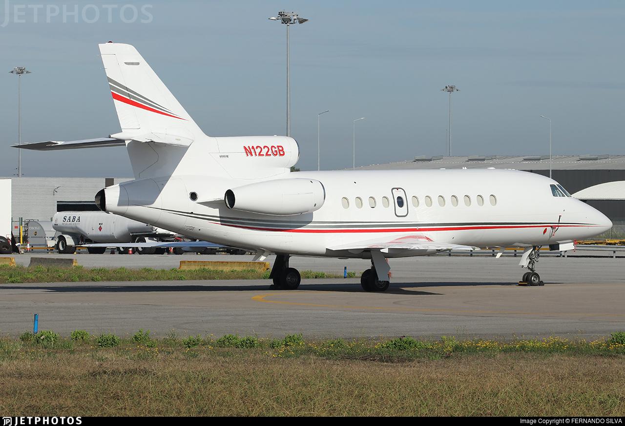 N122GB - Dassault Falcon 900 - Private