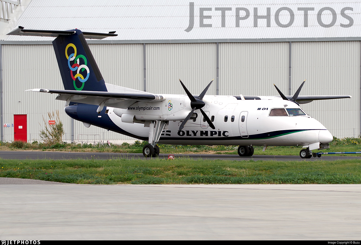 SX-BIP - Bombardier Dash 8-102A - Olympic Air