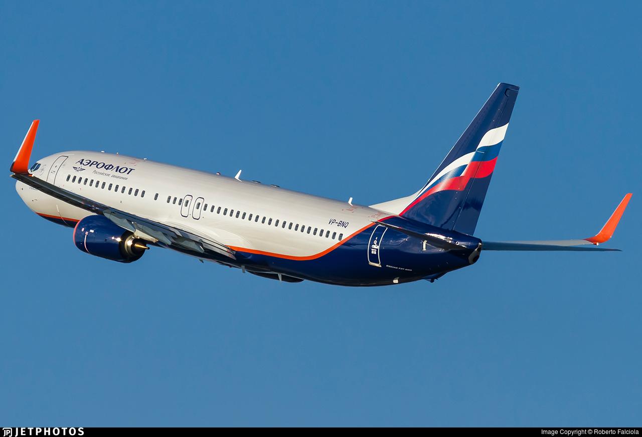 VP-BNQ - Boeing 737-8MC - Aeroflot