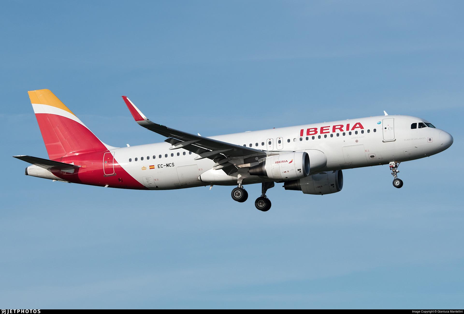EC-MCS - Airbus A320-214 - Iberia