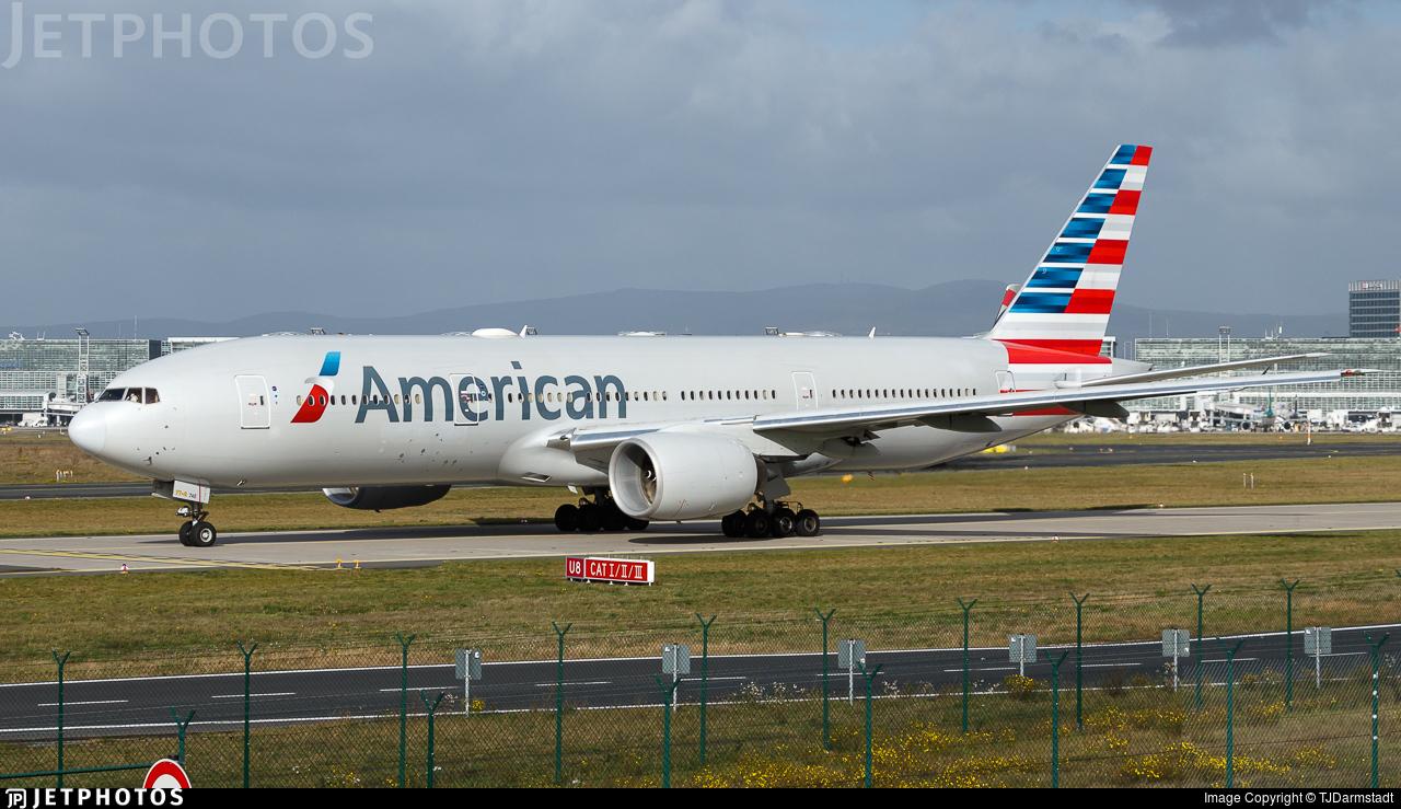 N774an Boeing 777 223 Er American Airlines