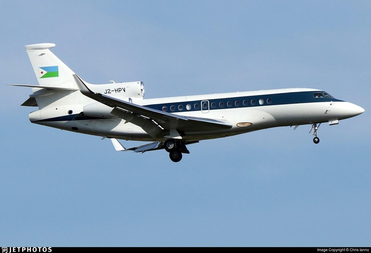 J2-HPV - Dassault Falcon 7X - Djibouti - Government
