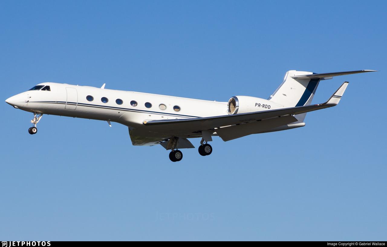 PR-RDD - Gulfstream G550 - Private